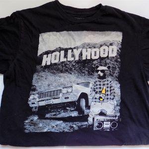 Riot Society 40oz Bear Hollywood T-shirt
